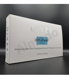 Dives - Nici PDO Mono Screw Eye (10szt.)