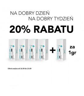 Promocja!! Lido-Care Cream 30ml 4 + 1 za 1gr